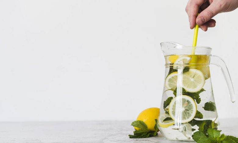 L'eau Détox recette