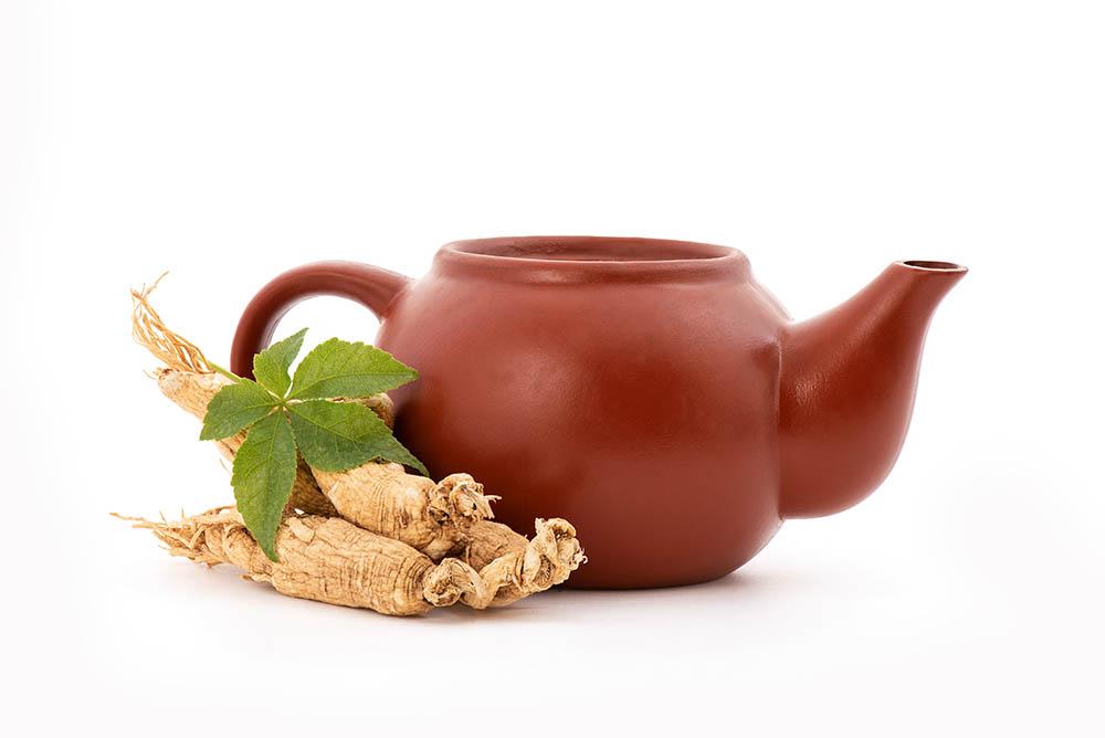 thé au ginseng