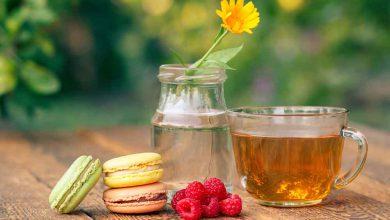 Thé à l'alcea rosea pour maigrir