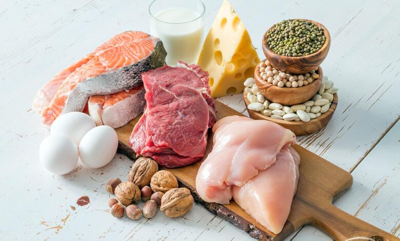 regime riche en proteine